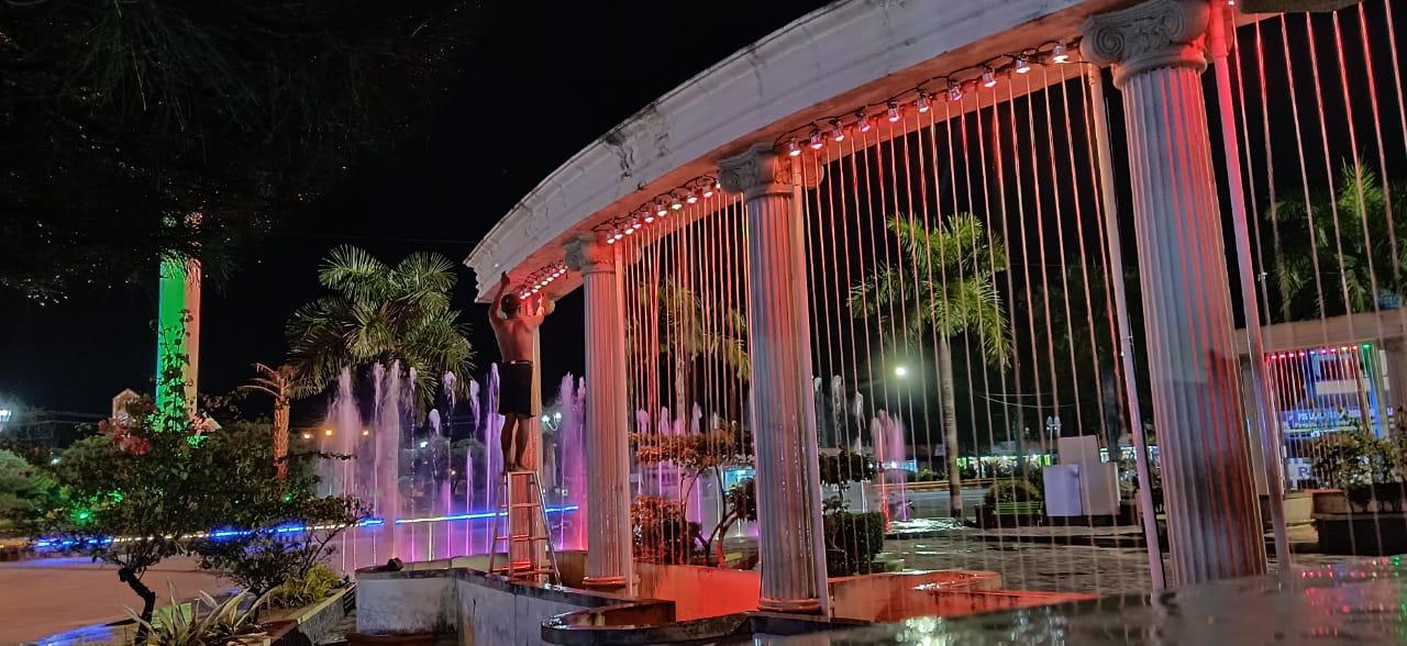 water curtain, Water Curtain indoor FNP, PEMBUAT AIR MANCUR MENARI